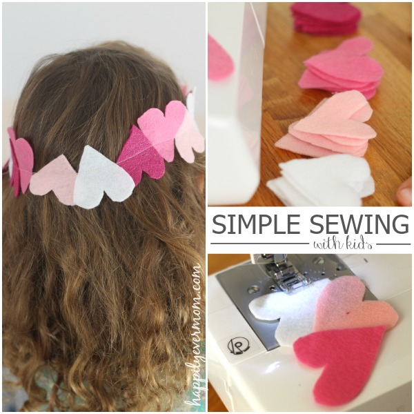 beginning sewing project kids will love