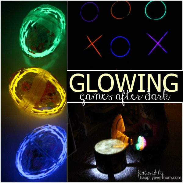 Awesome games that glow in the dark