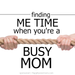 5 Reasons to Help Other Moms Find Me Time + a Giveaway!