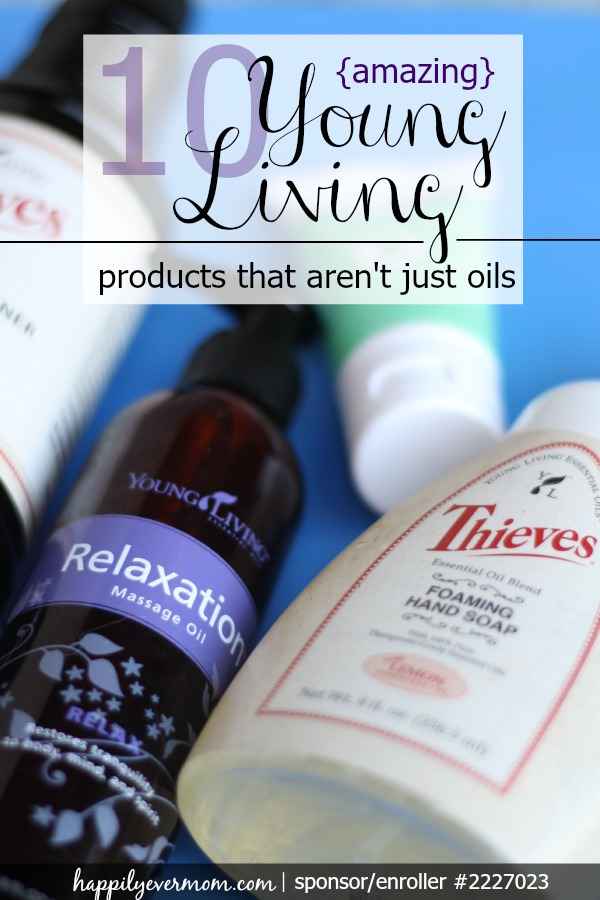 Love these products that go beyond essential oils ~ can't live without them (seriously!)