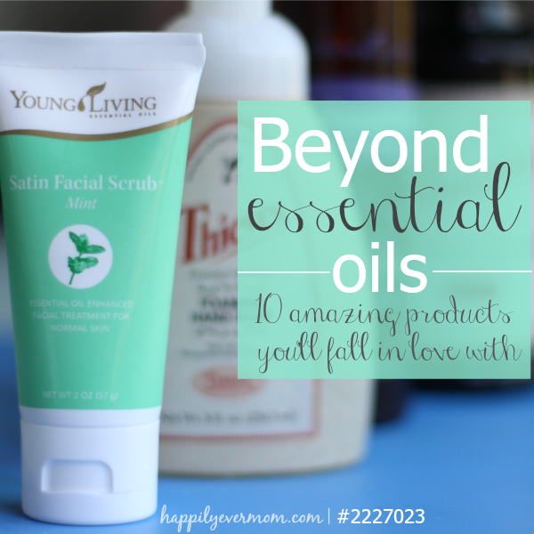 Amazing young living products that aren't essential oils