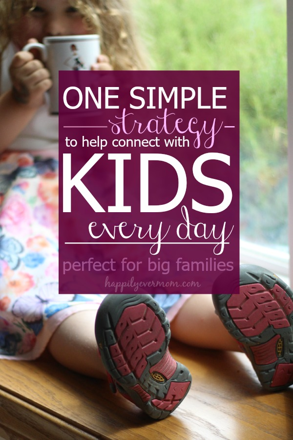 Simple tip to connect with kids everyday #ad #AmericasTea