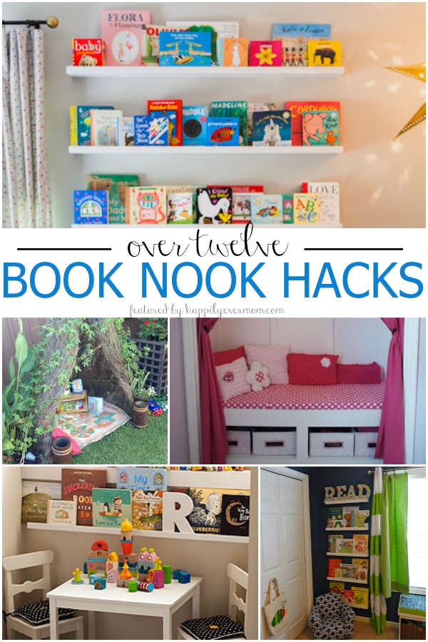 Book nook hacks to say bye bye to bulky book shelves