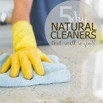 Make Your Own {Natural} DIY Cleaners and Sprays