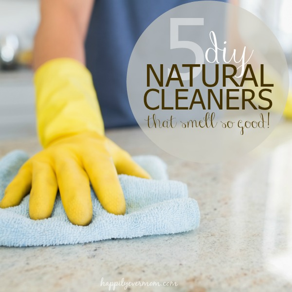 Natural DIY cleaners that are so easy to make ~ I grabbed a few ingredients at the $1 store to save money, too.