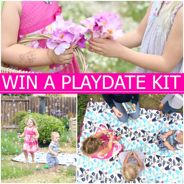 Win a playdate kit worth over $100!!  #ad #keepplaying