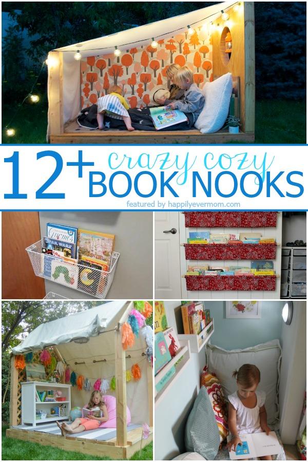Fun book nooks for kids