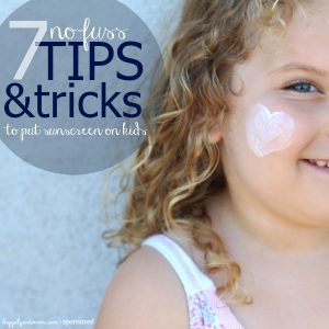 7 No-Fuss Tips and Tricks to Apply Sunscreen on Kids