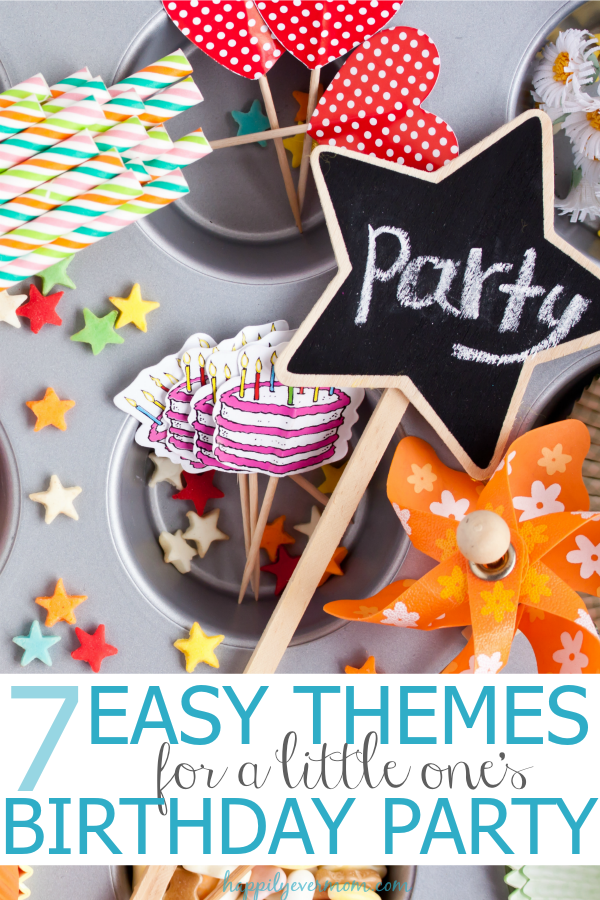 Quick and easy inspiration for kid's birthday parties