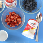 4th of July Kid Friendly Desserts – American Flag with Yoplait!
