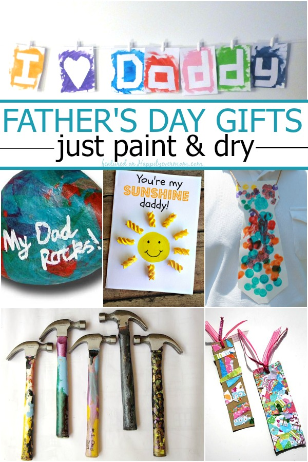 Father S Day Gifts Made With Paint