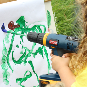 Process Art: Painting with Tools