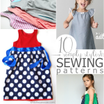 10 Easy Patterns to Sew a Dress for a Girl Around the World
