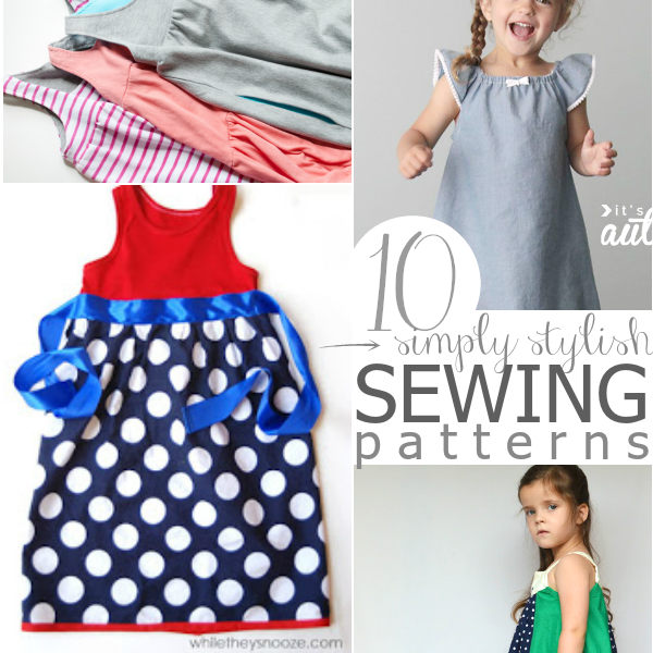 60 Easy Patterns To Sew A Dress For A Girl Around The World Cool Easy Dress Sewing Patterns