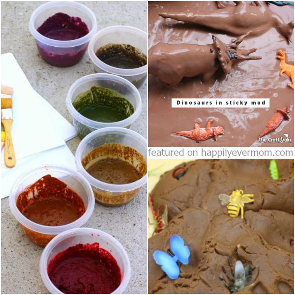 Fun activities for kids that all involve MUD!! #myfilthiestplay #ad