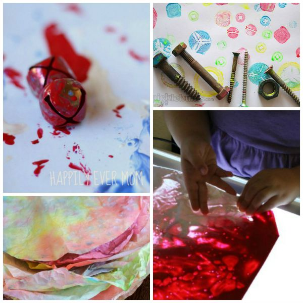 Process art fun for kids (love these ideas!)