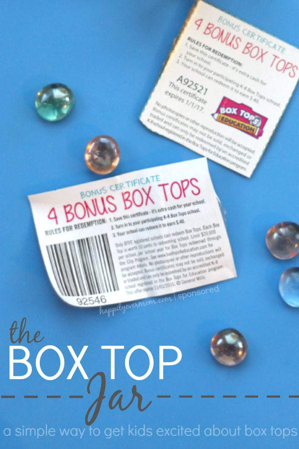 A super simple way to motivate kids to find Box tops ~ why didn't I think of this before?! #ad #BTFE