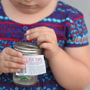 The Box Tops Jar: a Fun Way to Raise Money for Schools