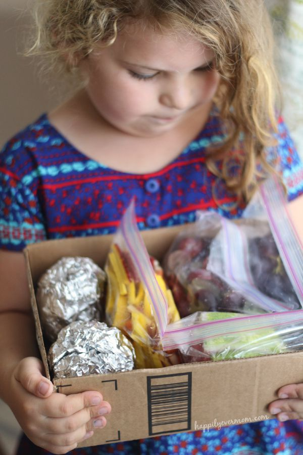 Simple lunch prep tips for the kids to keep your week sane