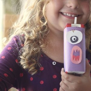 Fun Halloween Treats for Kids: Monster Milks