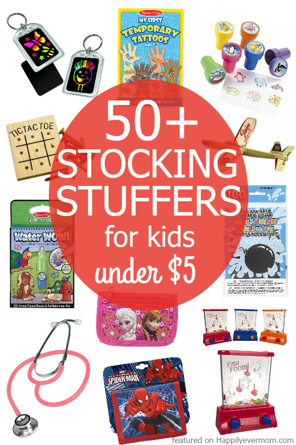 FUN stocking stuffers for kids that won't break the bank