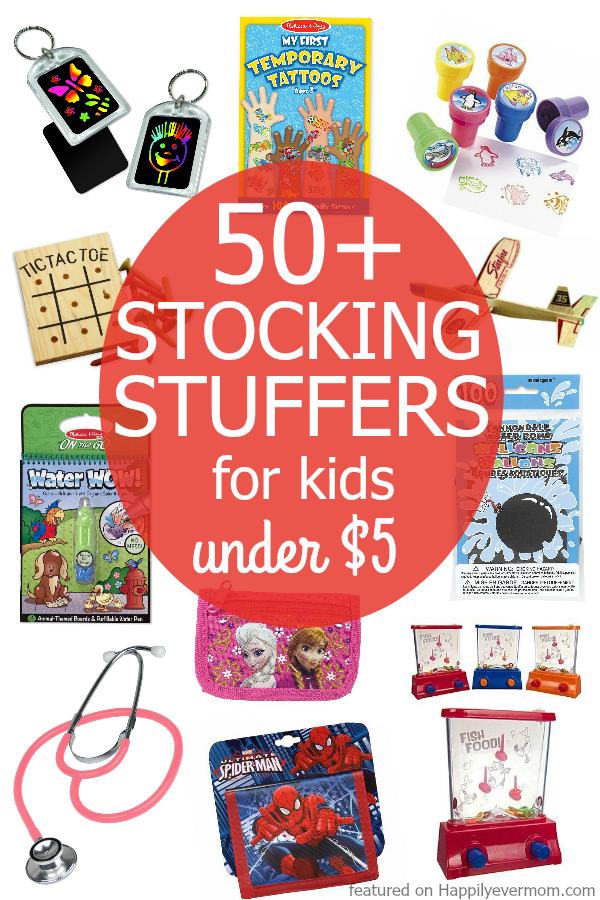 FUN stocking stuffers for kids that won't break the bank