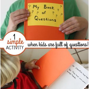 1 Simple Tool to Help When Kids Are Full of Questions