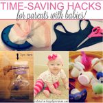20 Brilliant Baby Hacks for Busy Moms