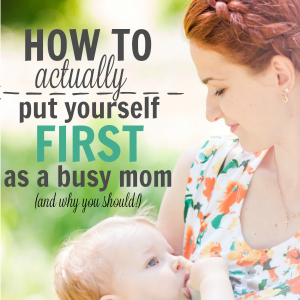 how-to-put-yourself-first