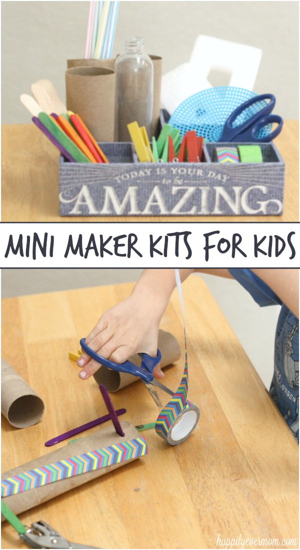 A fun way to use all the recyclables that you have around the house - kids will love it