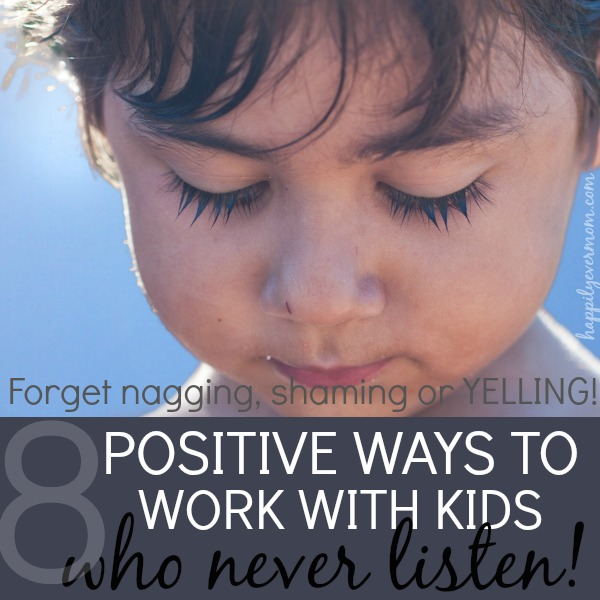 When a child just won't listen to you ~ these are awesome reminders <3