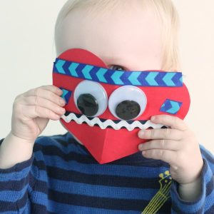 Valentine Craft for Kids: Ribbon Hearts 3 Ways!