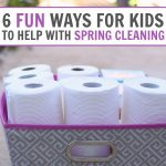 6 Fun Ways for Kids to Help with Spring Cleaning!