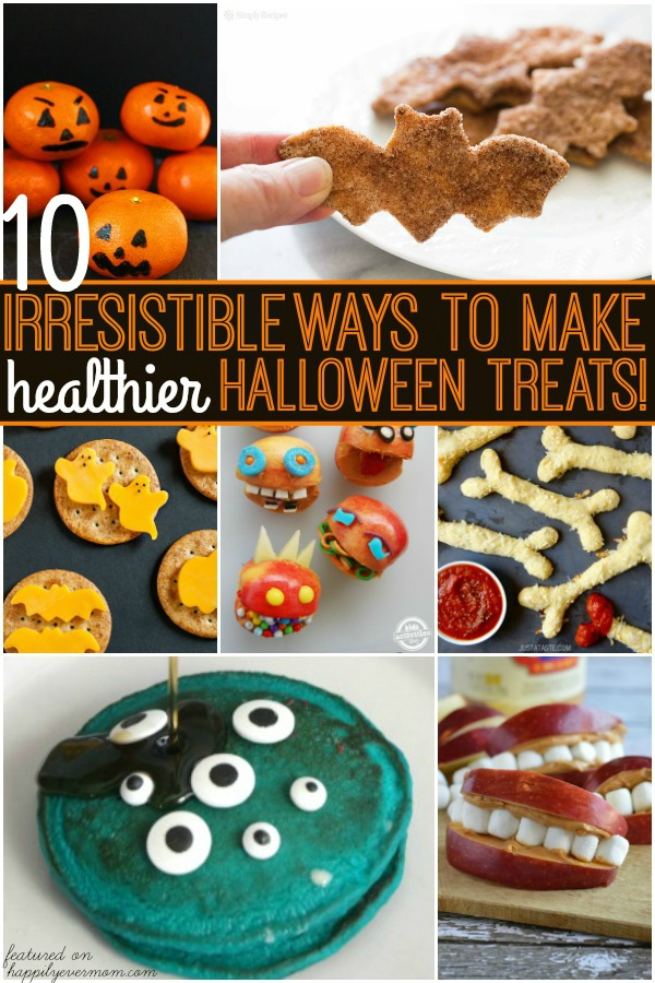 Fun Halloween Treats for Kids that cut out some of the sugar, but is still so much fun!