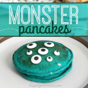 How to Make Monster Pancakes