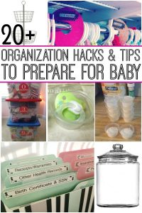 organization-hacks-for-parents-with-baby