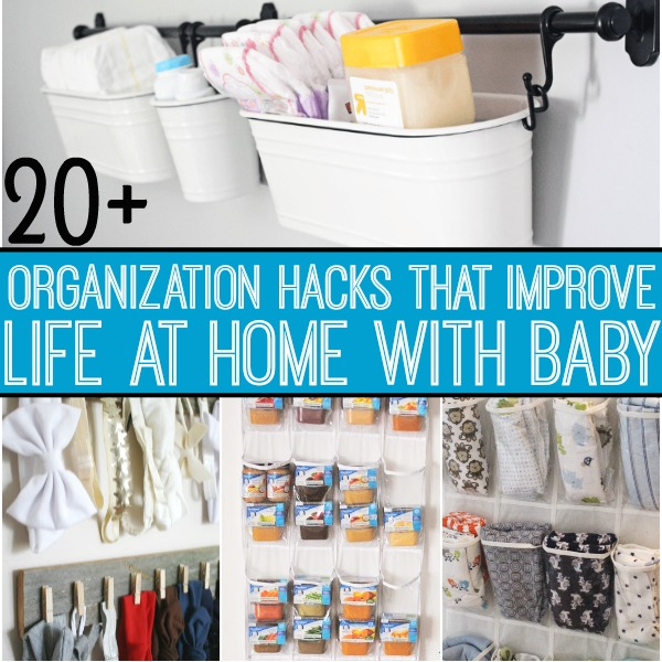 Organization Hacks For Everything That Baby Needs