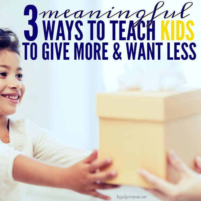 Love this post about ways to talk to kids about gifts and what they want for Christmas. I love #2 because it teaches them to GIVE as well as to receive gifts!