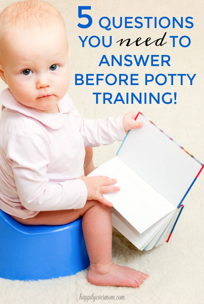 potty training tips I wish I had read before I started potty training my youngest. Really great questions from a teacher who's helped a ton of kids learn to potty train.