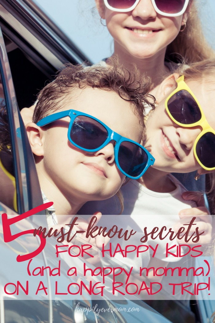 Road trip tips for long car rides with kids. This is especially good if you've got kids under 5 - like road trips with preschoolers, babies, and toddlers. I didn't know these tips!#ad