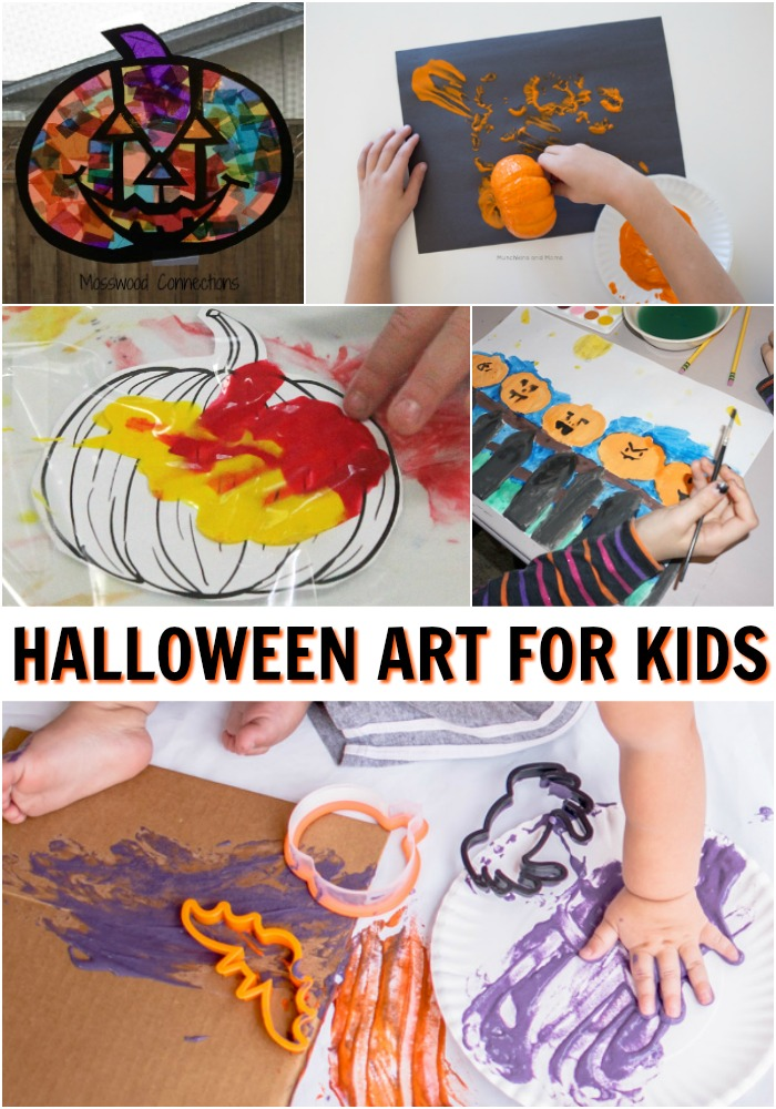 Awesome Halloween art activities that you can do with kids RIGHT NOW!