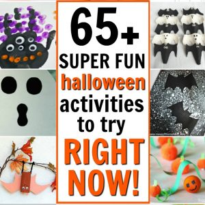 65+ SUPER Fun Halloween Kids Activities to Try Right Now!
