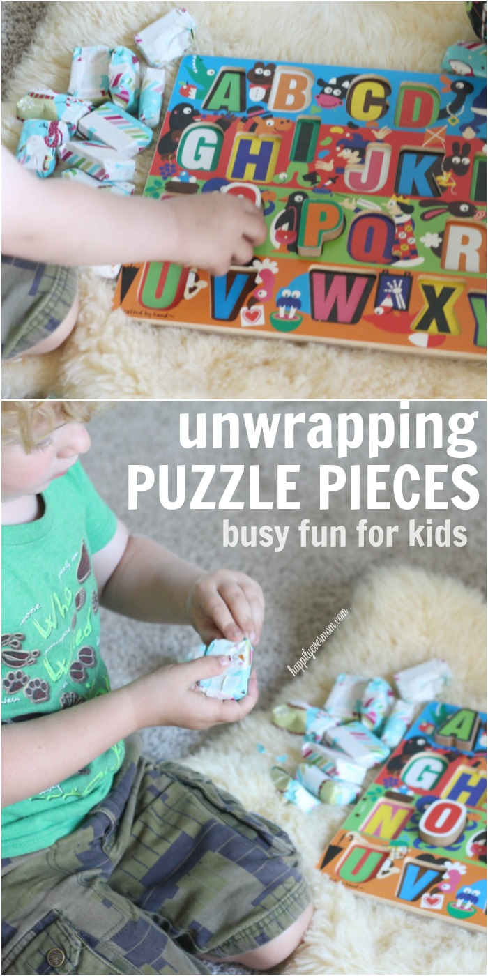 This is FUN! What a great idea for an activity to keep toddlers and preschoolers busy during the christmas season. This would be great for the kids to do while I wrap presents - love it.