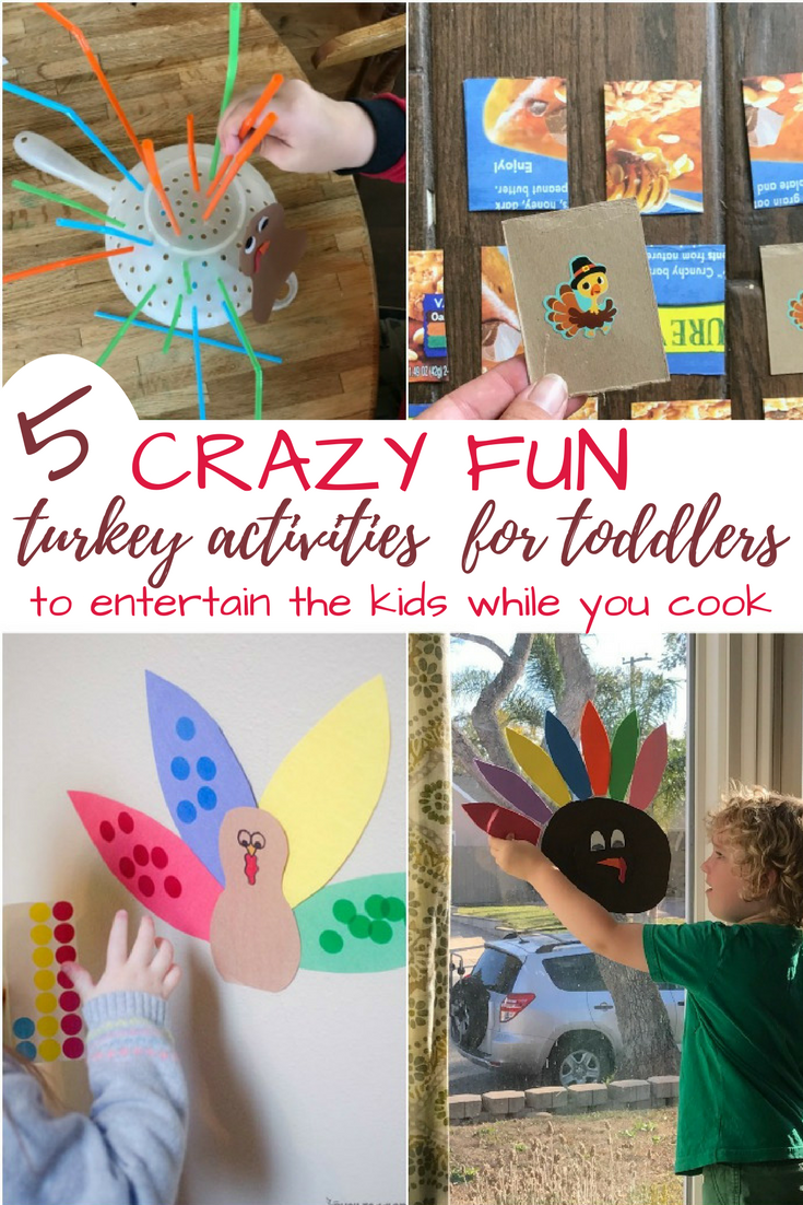 Quick, last minute toddler activities that *actually* keeps my toddler happy while I'm cooking Thanksgiving dinner! Gotta love this list!