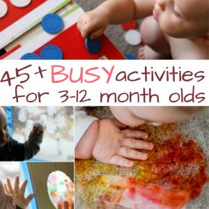 45+ Brilliant Baby Activities for Busy One Year Olds