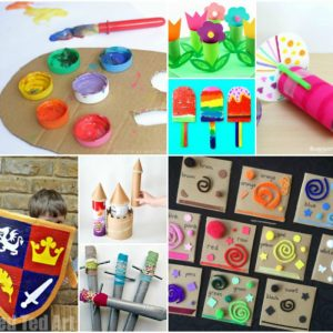 65+ Awesome Cardboard Box Activities and Crafts for Kids!
