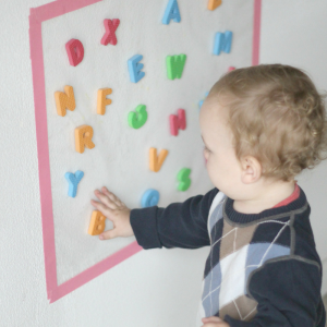 Sticky Grab: A Fun Activity for Baby