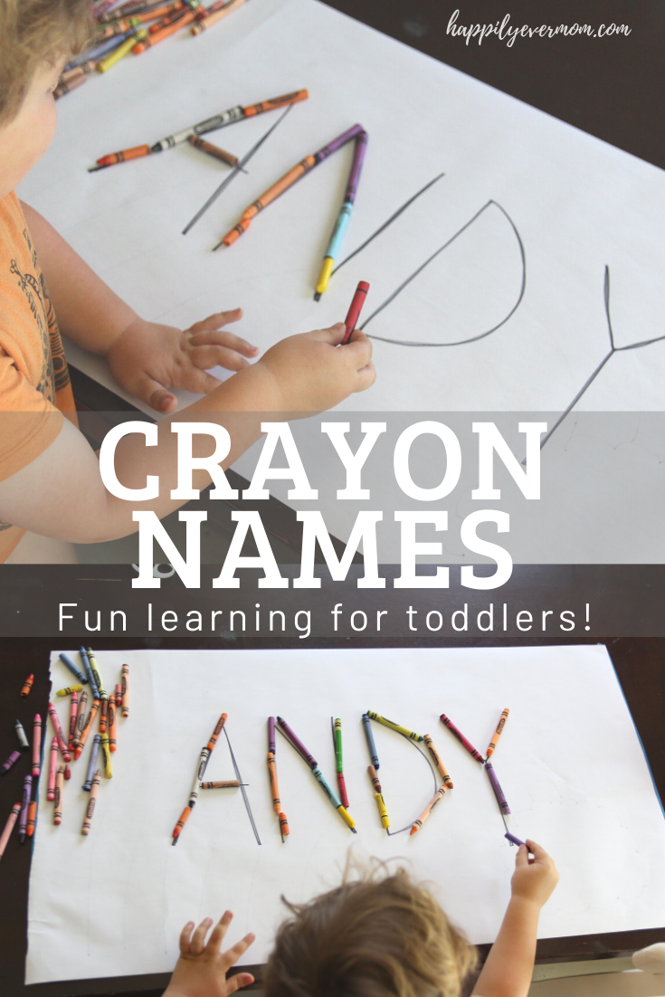 EASY learning activity for toddlers at home. I love that you don't need much to do this activity and, yet, it lasts for such a long time with these tips. Fun activity - so glad I tried it!! #toddler #toddlers #toddlerlearning #homeschool