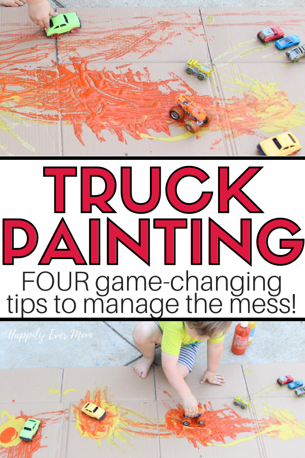 This is the EASIEST, most satisfying way to art activity for toddlers. Plus, I love the tips for how to clean this activity up. The clean up tip helps the activity keep going AND manages the mess. WIN/WIN!