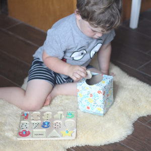 Hidden Pieces: A Quick Learning Activity for Preschoolers